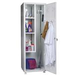 Шкафы хозяйственные металлические, шкафы для хозинвентаря