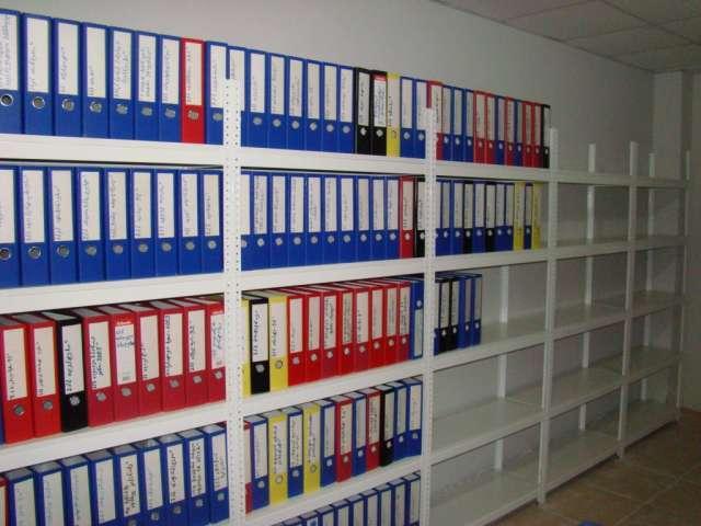 Архивные стеллажи металлические для офиса и архивы