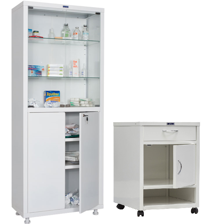 Медицинские шкафы