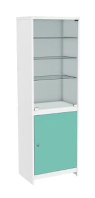 Шкаф с цветными дверками