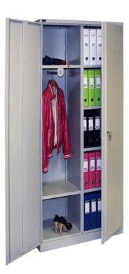 Шкаф металлический офисный для одежды